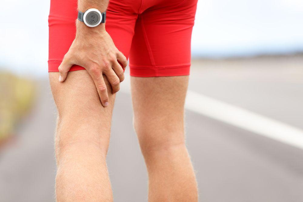 naderwanie mięśnia dwugłowego uda