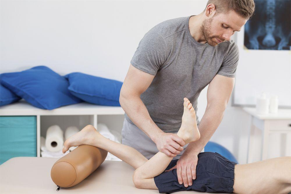 Poizometryczna relaksacja mięśni prowadzona przez fizjoterapeutę