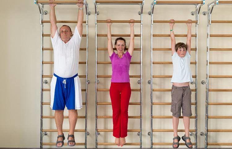 ćwiczenia - trakcja kręgosłupa
