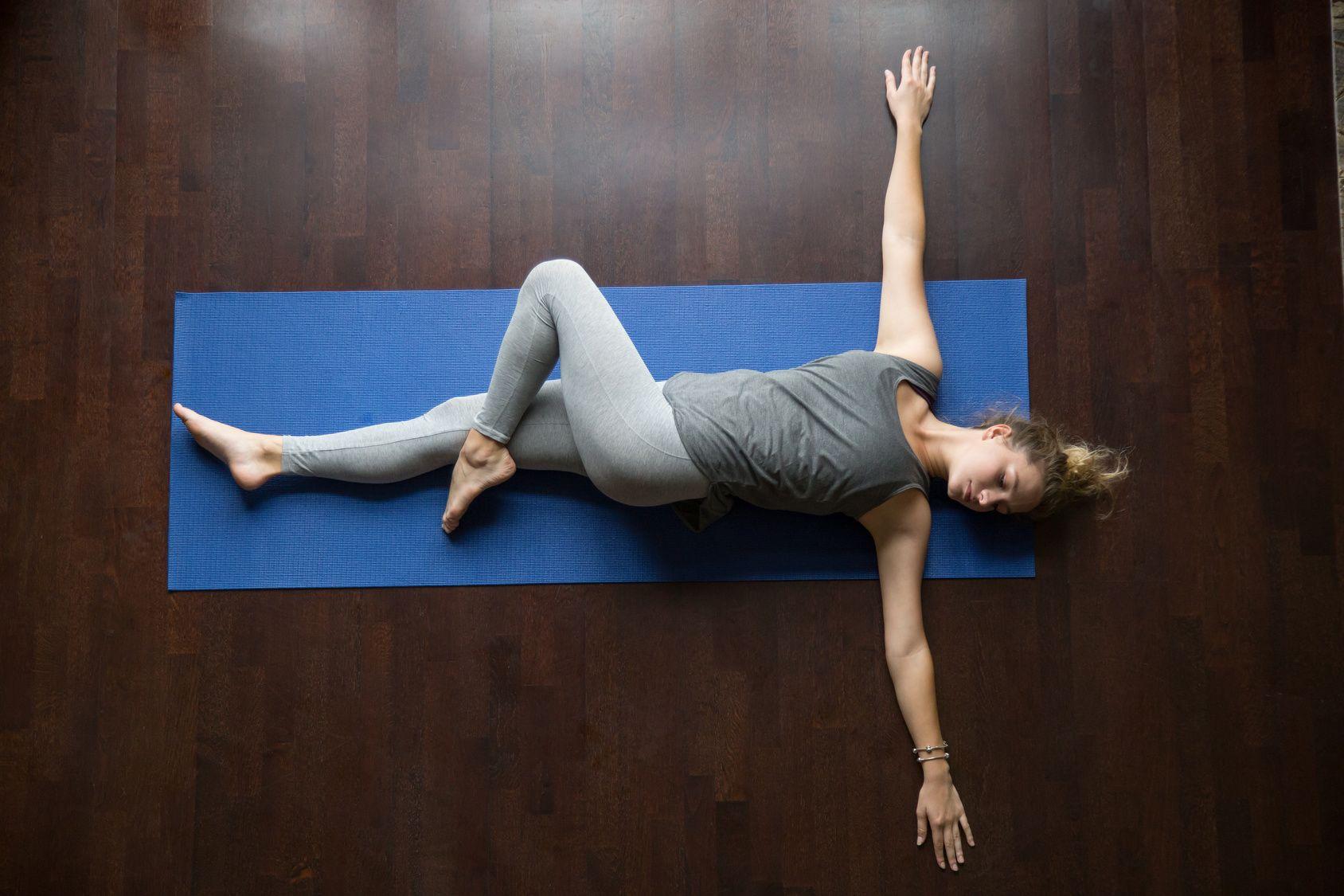 gimnastyka kręgosłupa - skręt