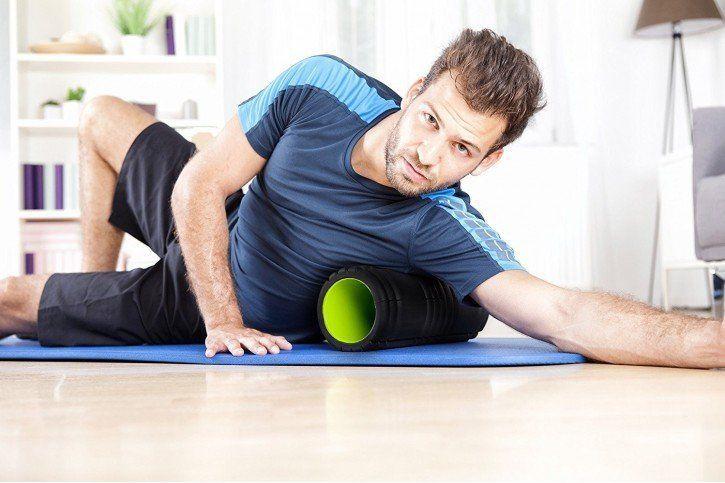 rolowanie mięśni obręczy barkowej