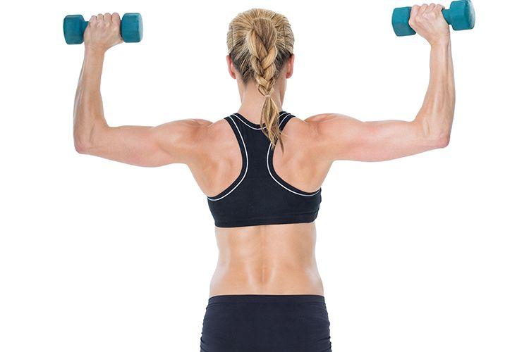 ćwiczenia wzmacniające mięśnie barków