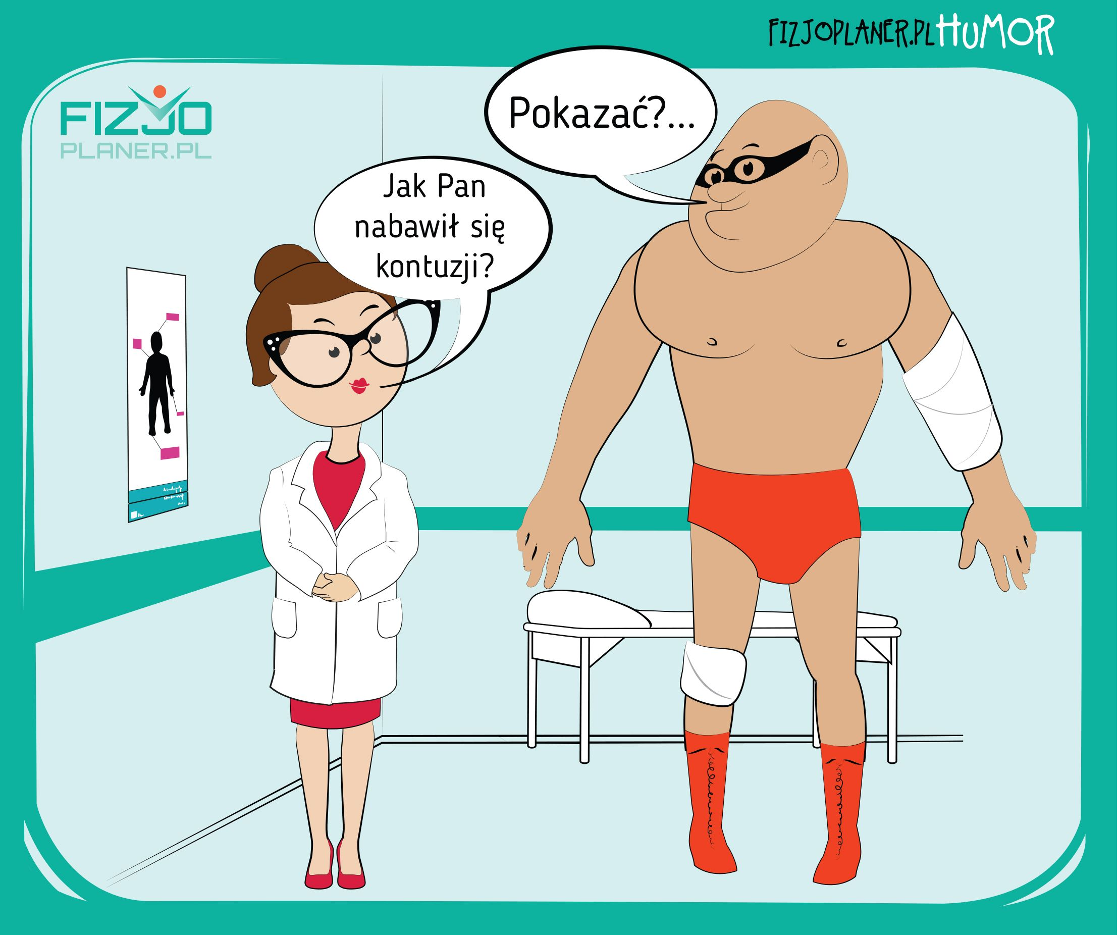 urazy kontuzje-Fizjoplaner.pl/humor