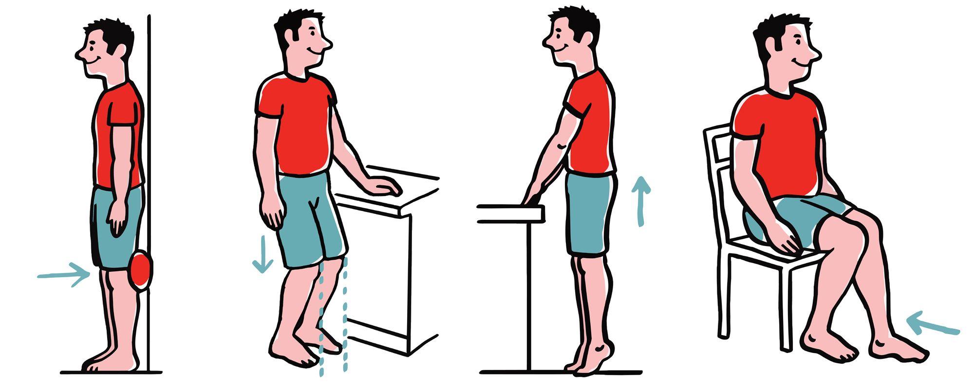 ćwiczenia staw kolanowy 1