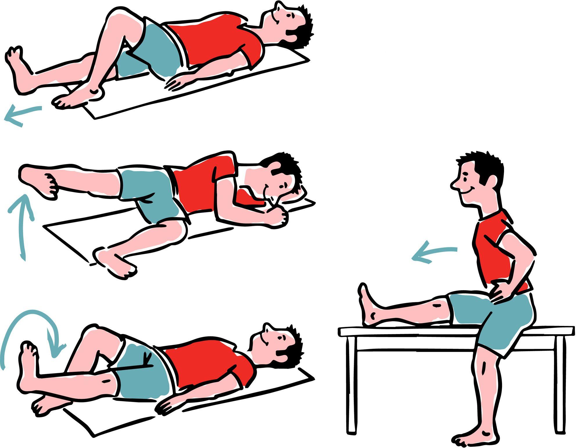 ćwiczenia staw kolanowy 2