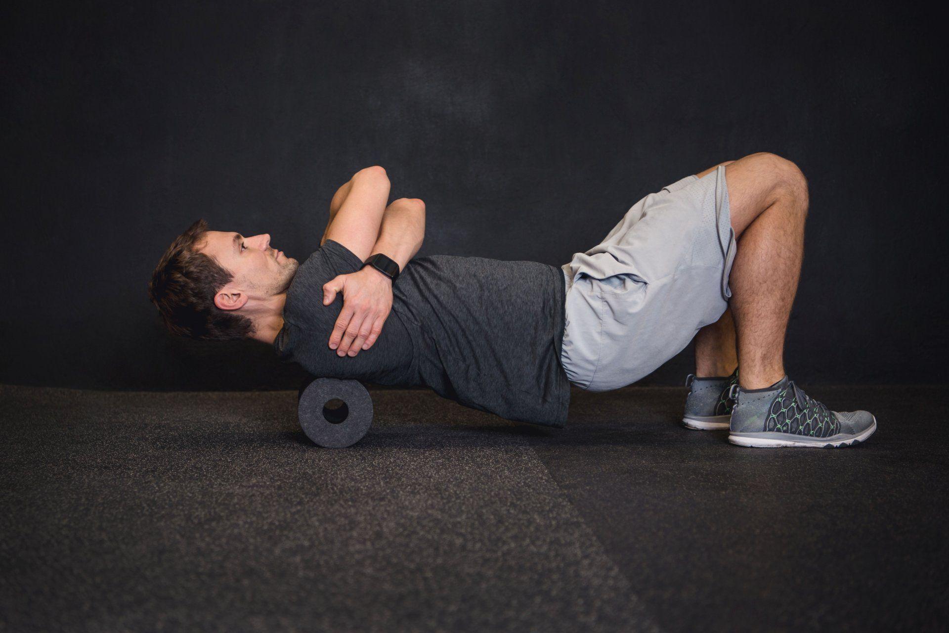rolowanie mięśni równoległobocznych