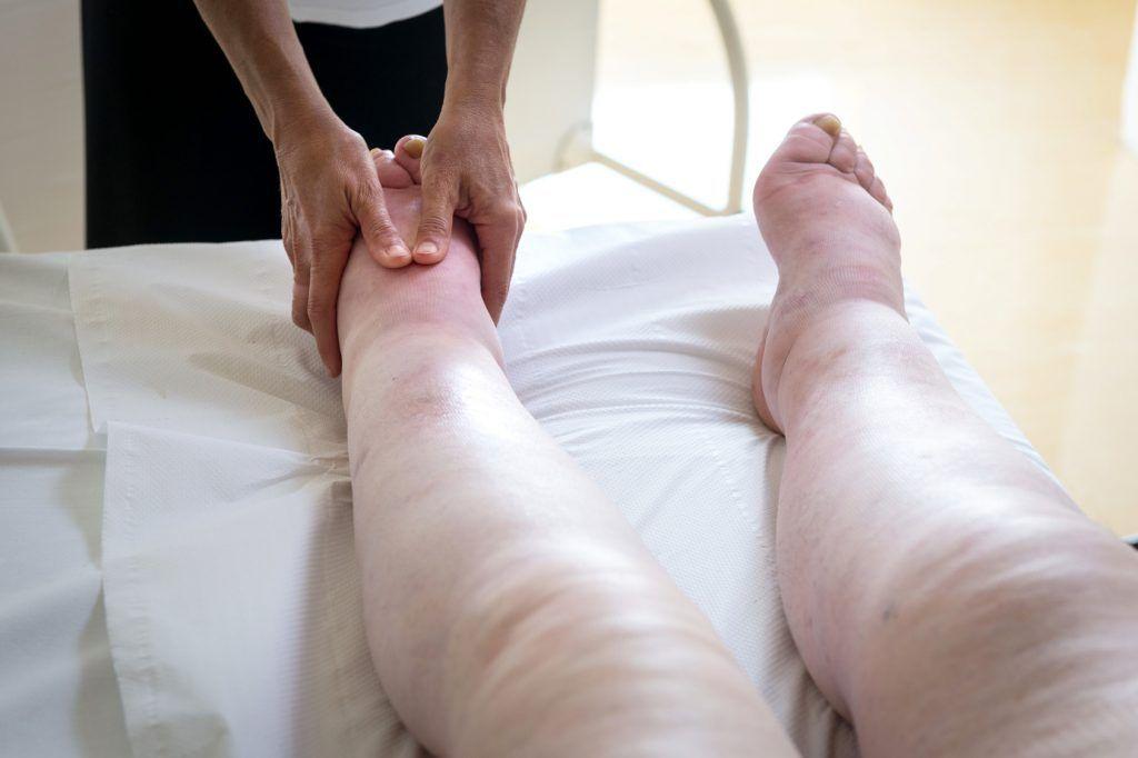 masaż, drenaż limfatyczny