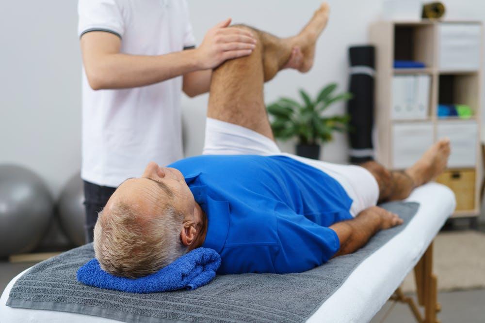 ćwiczenia bierne - kinezyterapia