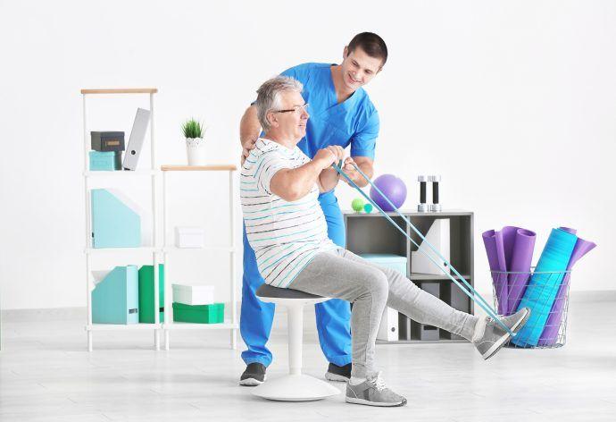 ćwiczenia samowspomagane - kinezyterapia