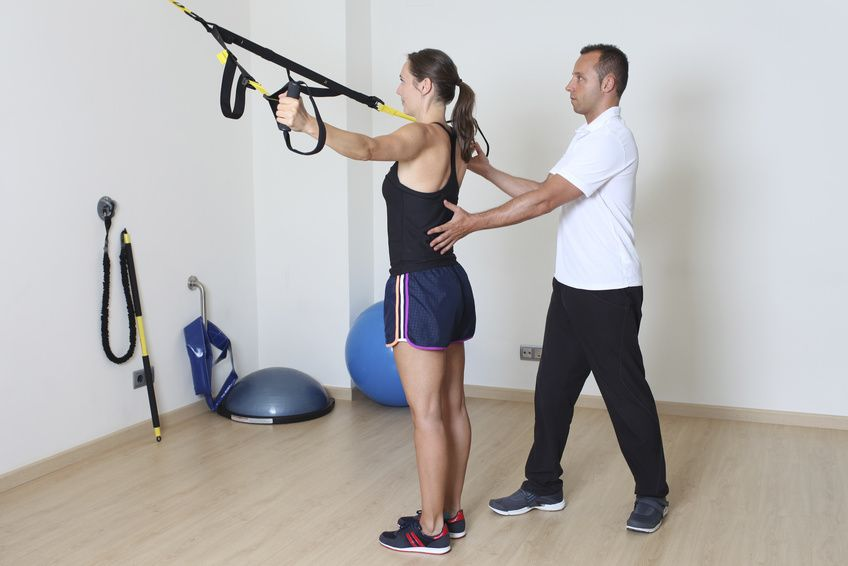 TRX ćwiczenia w fizjoterapii
