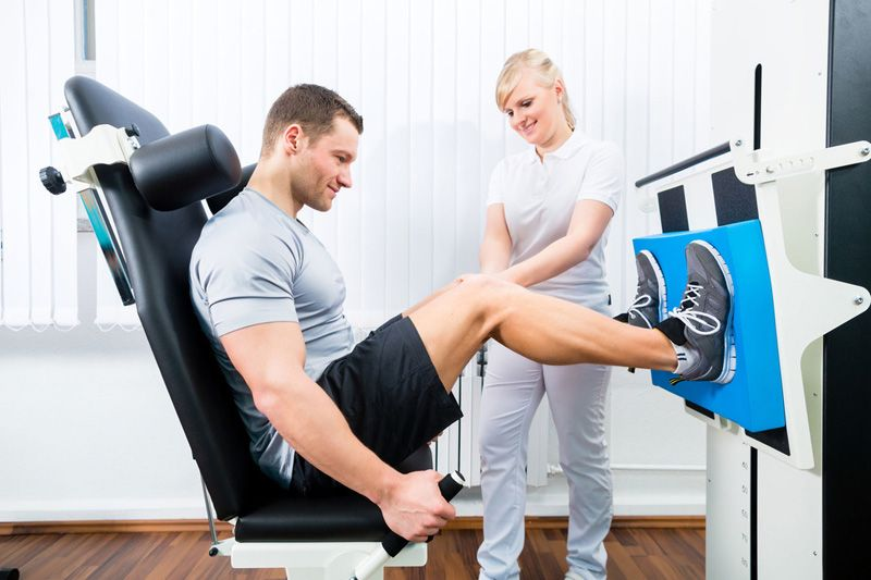 maszyny oprowe ćwiczenia w fizjoterapii