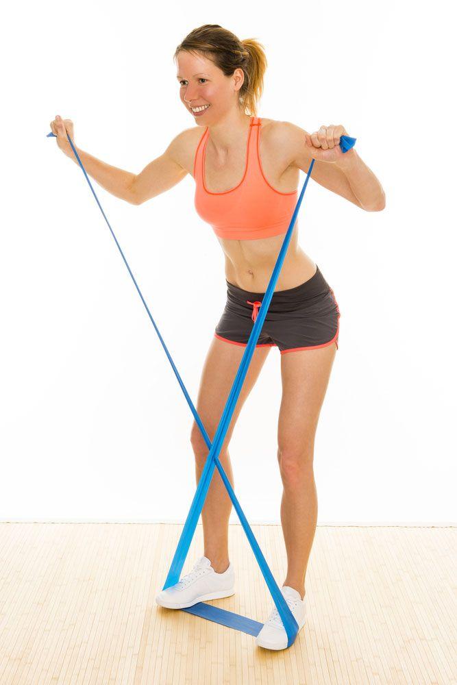 wzmacnianie mięśni równoległobocznych