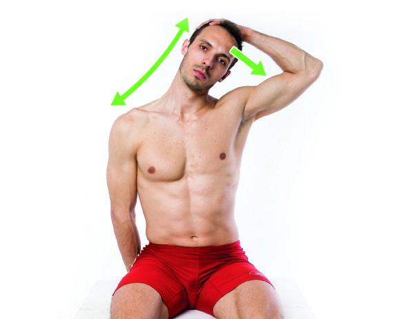 Rozciąganie mięśnia czworobocznego